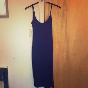 Silence and Noise Ribbed body hugging dress